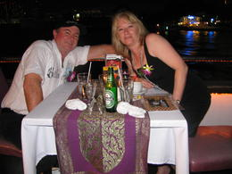 Photo of Bangkok Bangkok Dinner Cruise on the Chao Phraya River having dinner