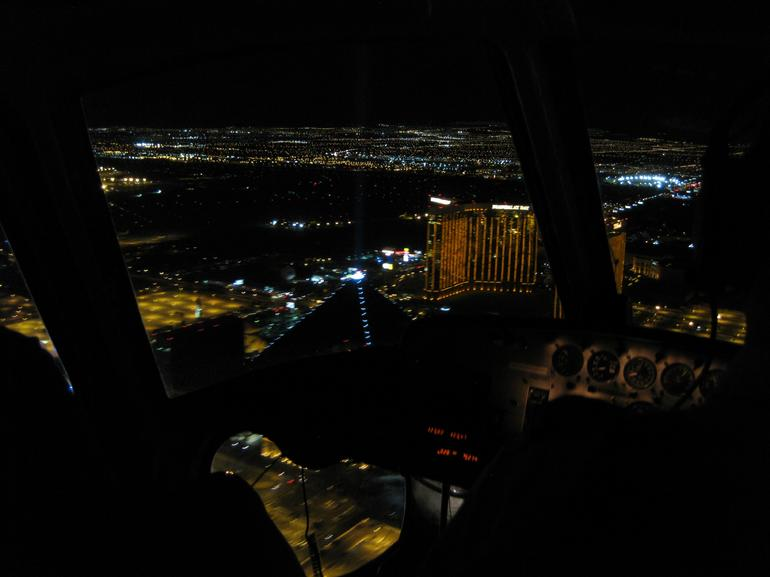 Las Vegas Strip at night. - Las Vegas