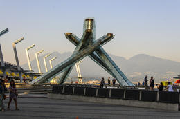 Don't miss downtown Vancouver and the Olympic Flame. , PATRICIA S - October 2013
