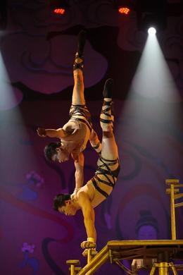 a mix of Kungfu and acrobats, Bing - May 2012