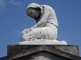 My tour guide's favorite statue in St. Louis Cemetary No. 1 , taylorep74 - July 2014