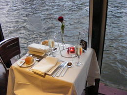Photo of Melbourne Spirit of Melbourne Dinner Cruise table for two