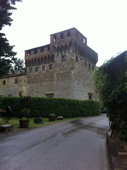Photo of Florence Chianti Region Wine Tasting Half-Day Trip from Florence The castle and grounds