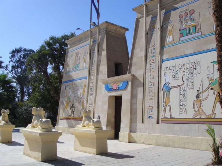 The Great Temple, Pharaonic Village - Cairo