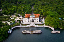 Photo of Miami Miami Helicopter Tour Villa Vizcaya