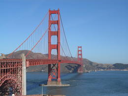 The Golden Gate Bridge - no explanation necessary ! , Donnie - October 2011