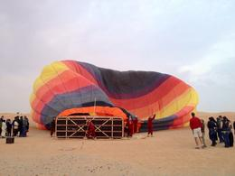 Photo of Dubai Dubai Hot Air Balloon Flight BOB the balloon!