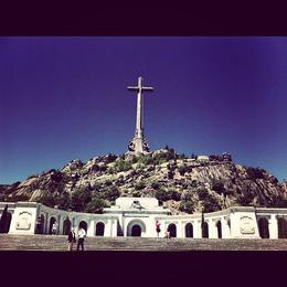 Valley of the Fallen, just outside of Madrid, Ryan & Asha - April 2013