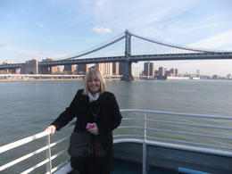 Photo of New York City Statue of Liberty Express Cruise fantastic shot of Brooklyn Bridge