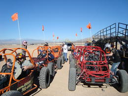 Photo of Las Vegas Nellis Dune Buggy Tour Gearing up