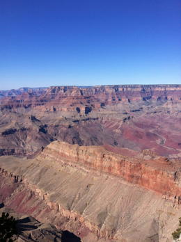 Here's a picture of the Grand Canyon. , Naomi E - March 2013