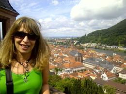 View from Heidelberg Castle , MERCEDES - August 2012