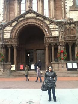 I got this picture in front of Trinity Church, Boston... , Zerrin S - January 2012