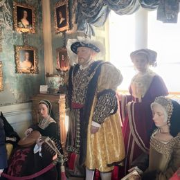 Inside Warwick castle , Elena K - February 2016