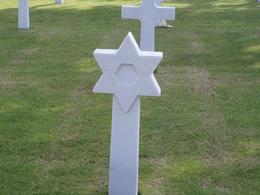Photo of Paris Normandy D-Day Battlefields and Beaches Day Trip Jewish Headstone