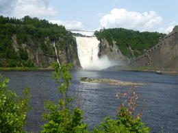 Photo of Montreal Quebec City and Montmorency Falls Day Trip from Montreal La Chute de Montmorency