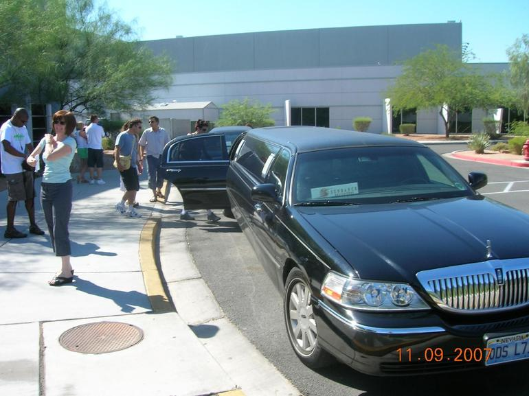 Limo Pick up - Las Vegas