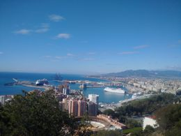 Malaga, from top of Gibralfaro , maria - May 2016
