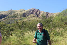 Mike, our guide on the hike up Diamond Head , Bruce F - December 2014
