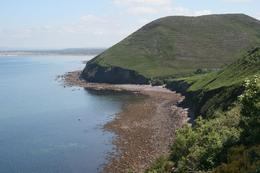 Awesome coastline along the ring of Kerry. At the end of the day you get enough time to get this view. - June 2010