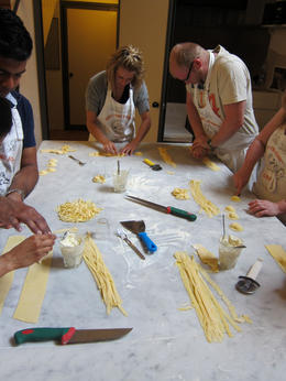 Photo of Florence Small-Group Italian Cooking Class in Florence Pasta from scratch