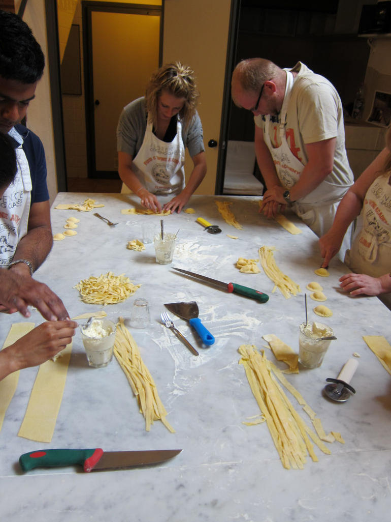 Pasta from scratch - Florence