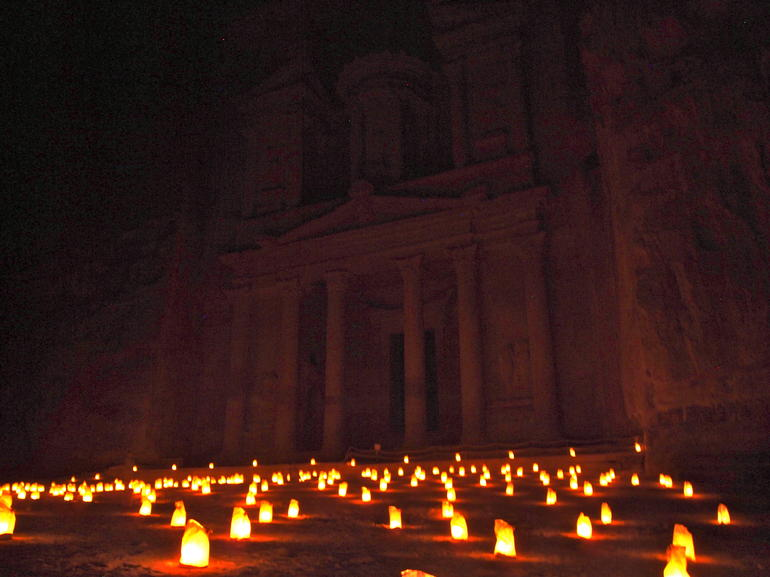 Petra by night - Amman