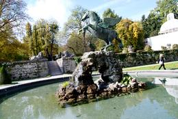 Photo of Munich Salzburg Small Group Day Tour from Munich sound of music fountain