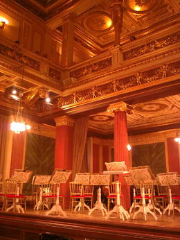 Photo of Vienna Vienna Mozart Evening: Gourmet Dinner and Concert at the Musikverein The concert hall stage