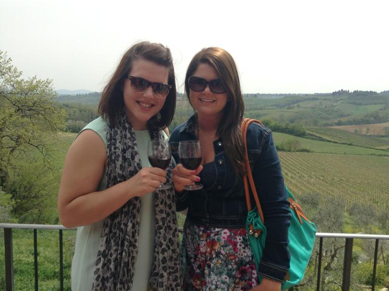 Tuscan lunch at a Chianti vineyard - Florence