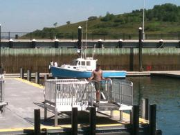 Waiting for the ferry, Spectacle Island - June 2011