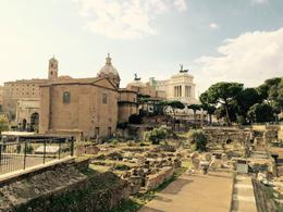 Roman Forum, Nancy - October 2014