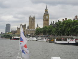 Photo of London Harry Potter Walking Tour of London including River Thames Boat Ride Boat tour from Westminster past the Millineum Bridge