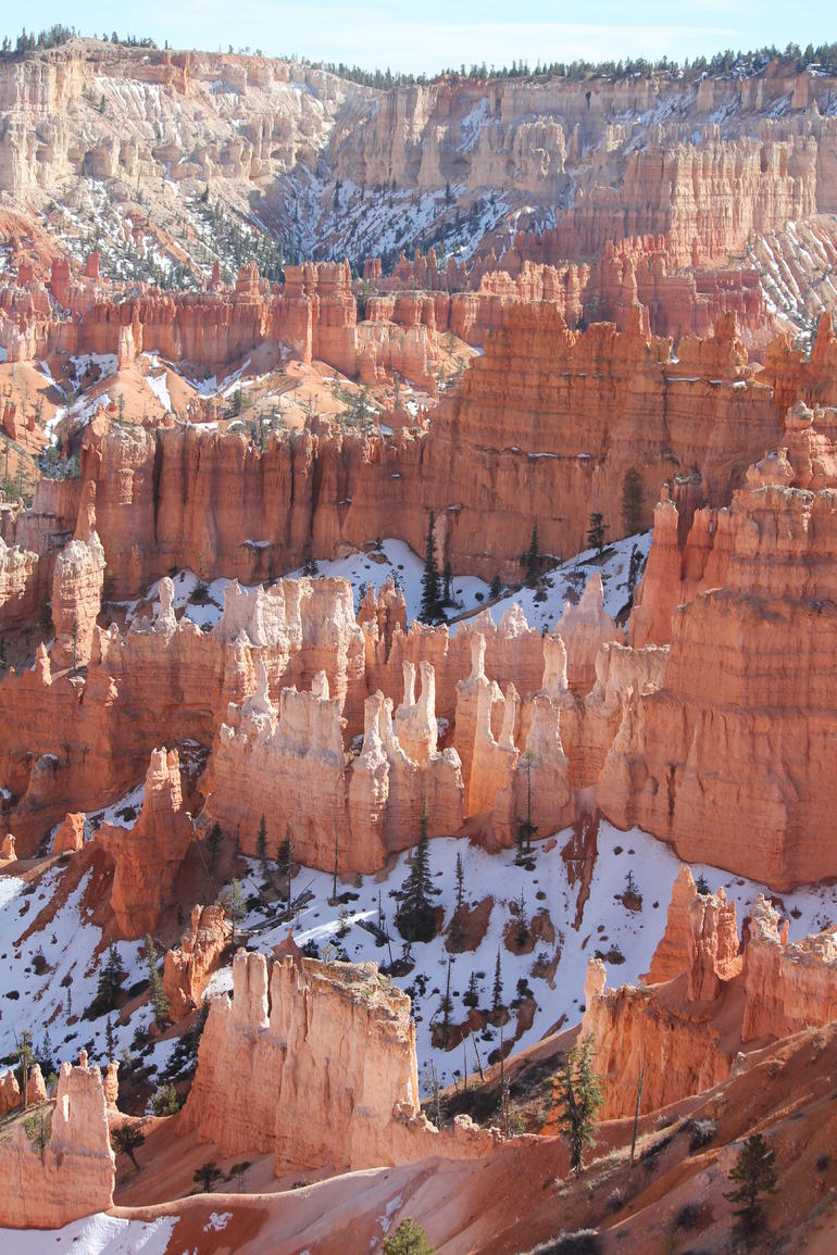 Bryce Canyon in March - Las Vegas