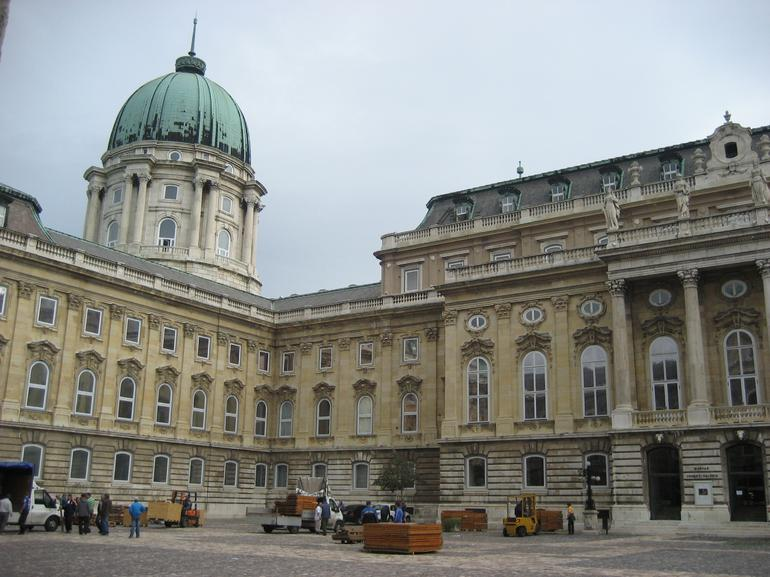 Buda Castle - Hungarian National Gallery - Budapest