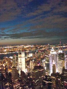 Photo of New York City NY SKYRIDE and Empire State Building Observatory From Empire State Building at Sunset