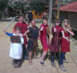 Photo of Rome Roman Gladiator School: Learn How to Become a Gladiator Graduation Photos