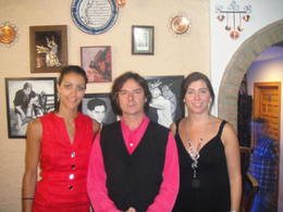 Flamenco show, Blanca - January 2013