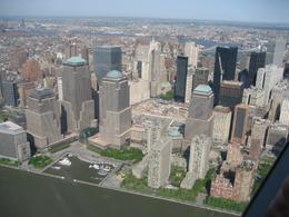 Another shot of Ground Zero and southern Manhattan from the helicopter. - June 2008