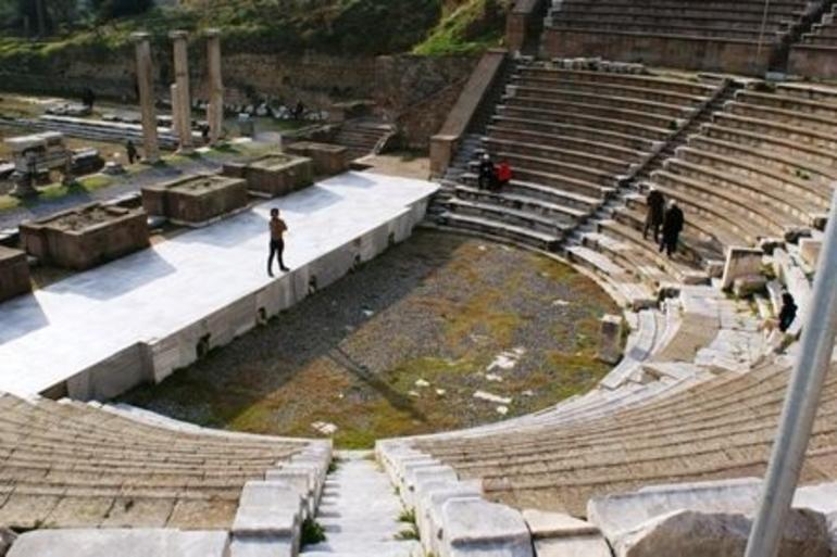 Healing Theater in Asklepion - Izmir
