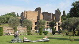 part of the ruins at Hadrian's Villa, Helene - October 2012