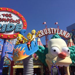 Simpsons ride - March 2016