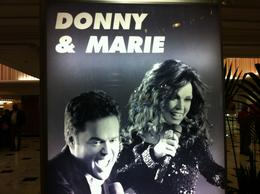 Photo of Las Vegas Donny and Marie at Flamingo Hotel and Casino Las Vegas IMG_4361