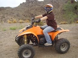 Me on the ATV, Traveler from Texas - October 2010