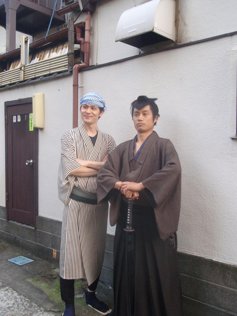 Meet the Ninja and quot;warrior and quot; - Tokyo