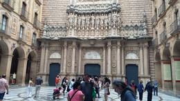 Photo of Barcelona Montserrat Royal Basilica Half-Day Trip from Barcelona Montserrat, entrance to the Royal Basilica