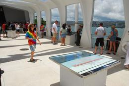 Visitors at the The USS Arizona Memorial., Jeff - February 2008