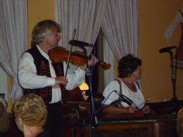 I loved listening to the entertainment., Irene - October 2013
