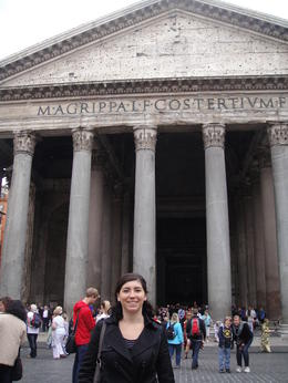 Rome City Bike Tour, Blanca - July 2012