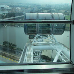 Photo of Singapore Singapore Flyer the view from the top